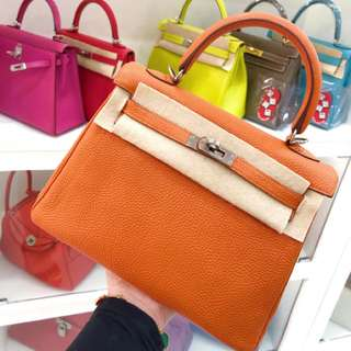Hermes Kelly 25 小可愛🍊