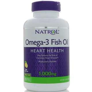 Natrol Omega 3 Fish Oil