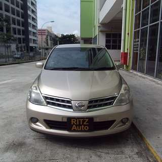 09 Nissan Latio 1.5A UBER GRAB PERSONAL Rental