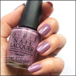 BN OPI One Heckla of a Colour I62