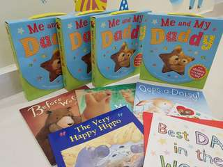 (Box set) Me and My Daddy Story books