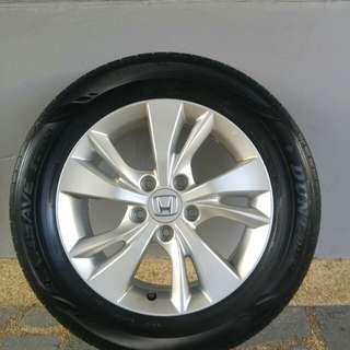 Honda Vezel Hrv rim and tyre