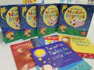 (Box Set) My little box of Nursery Rhymes