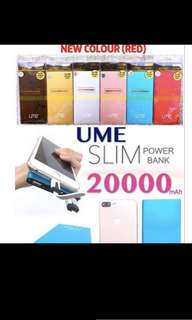 20000 mAh UME portable charger