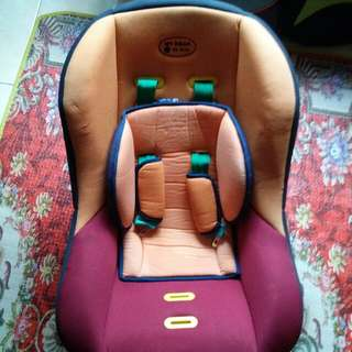 Baby Car Seat no clipper seatbelt