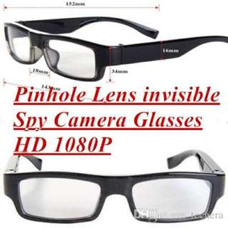 Spy Camera Glasses HD With Discreet Camera