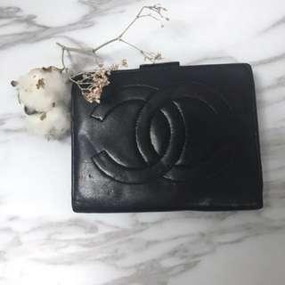 💥 Chanel 牛皮羊皮短銀包💕 YSL Celine Prada