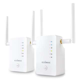 Edimax Gemini RE11 Whole Home Wi-Fi Upgrade Kit  Expand Your Whole-Home Reliable Wi-Fi Coverage RE11
