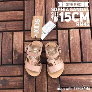 Cotton On Kids Sophia Sandal
