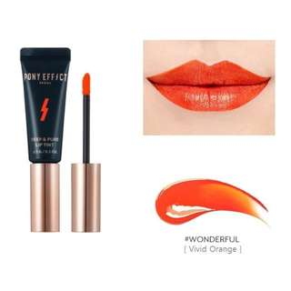 Pony Effect Deep and Pure lip tint Wonderful