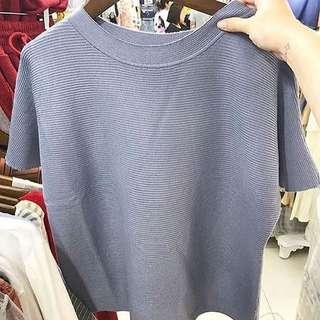 Knitte top blue