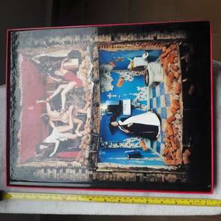Price reduced...Hardcover table top book. box set. 38x30cm. Very heavy