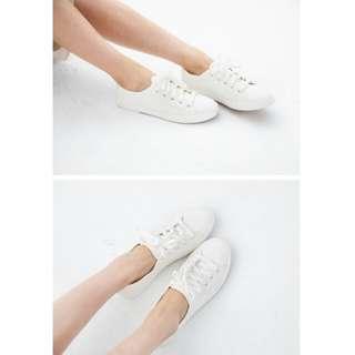 (附實拍)全新小白鞋