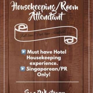 Housekeeping/Room Attendant