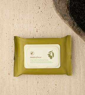 INSTOCK Innisfree Olive Real Cleansing Tissue