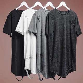 1349 New Ripped Stylish t-Shirt [P.O]