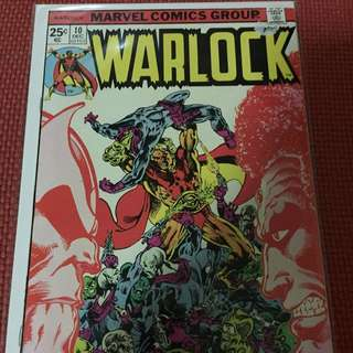 Marvel Warlock #10 (First Appearance of The In-betweener)