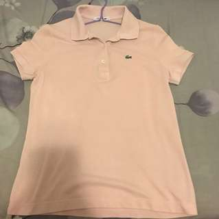 Lacoste polo for lady