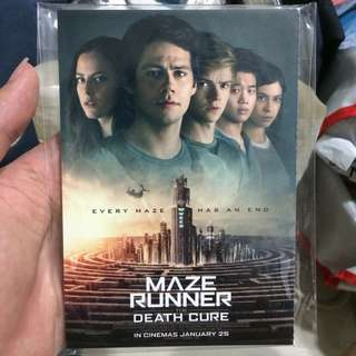 Post Cards from Maze Runner: The Death Cure