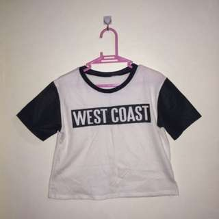 West coast jersey shirt