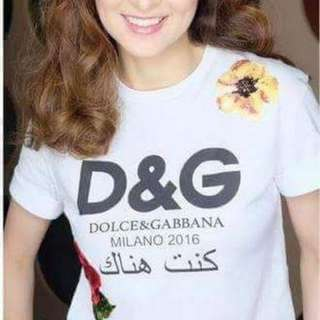 D & G Embroidered