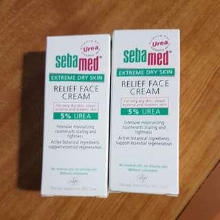SEBA MED Relief Face Cream 5% Urea