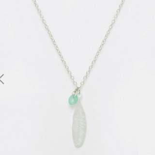 🚚 羽毛項鍊🔥✨現貨💖Feather necklace