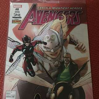 Marvel The Avengers #8 Stan Lee Box Variant