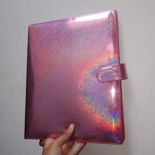 BINDER HOLOGRAM PINK