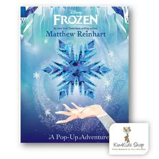 Frozen Pop up book:A Pop Up Adventure