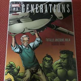 Marvel Generations #1 Stan Lee Box Variant
