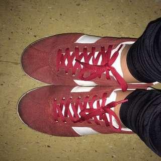 Topshop Maroon Shoes