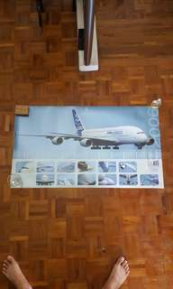 Rare year 2006 Airbus A380 pre-launch Calendar