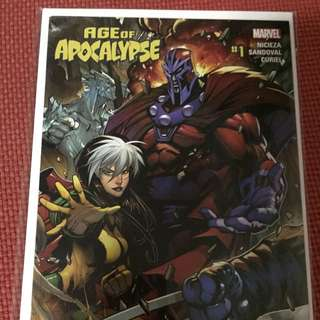 Marvel Secret Wars Age of Apocalypse #1