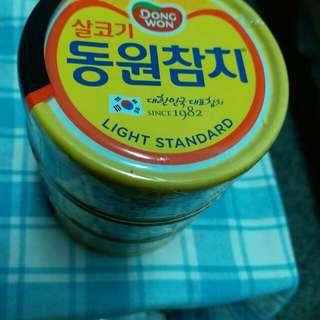 🚚 韓國鮪魚罐頭3入(100g)