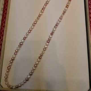 淡水珍珠串鍊32吋