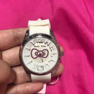 Authentic white watch
