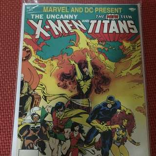 Marvel Uncanny X-men & DC New Teen Titans # 1