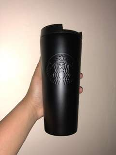 Starbucks Matte Black Stainless Steel Tumbler