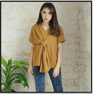 LUX TOP MUSTARD