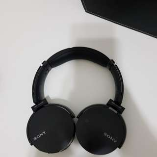 Sony MDR-XB650BT Wireless Extra Bass Headphones