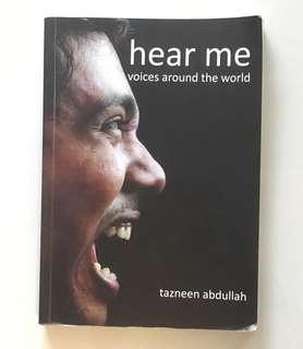 Hear Me Book