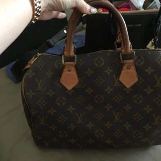 LV Bag  speedy 30 authentic