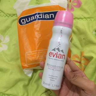 New Evian mineral water