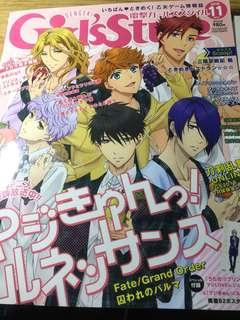 Girl'sStyle乙女向遊戲全彩雜誌201611月號含海報