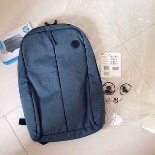 全新行貨 Hp 15.6 吋 value laptop navy backpack 藍色 平板電腦 電腦背囊 背包 袋