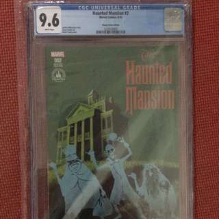 Disney Haunted Mansions #2 Disney Parks Edition CGC 9.4