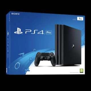 PS4 1TB PRO Console!