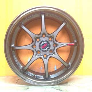 15 inch SPORT RIM VOLK RACING CE28 RASY WHEELS 8 SPOKE !