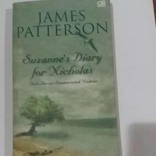 Novel James Patterson SUZANNE'S DIARY FOR NICHOLAS (Buku Harian Suzanne untuk Nicholas)